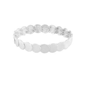 Armband - Armband resår silver