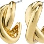 Örhängen - Örhängen omlott guld