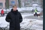 Foto: Dennis Meisner - Camilla Ferhm såg olycksbussen bärgas från platsen