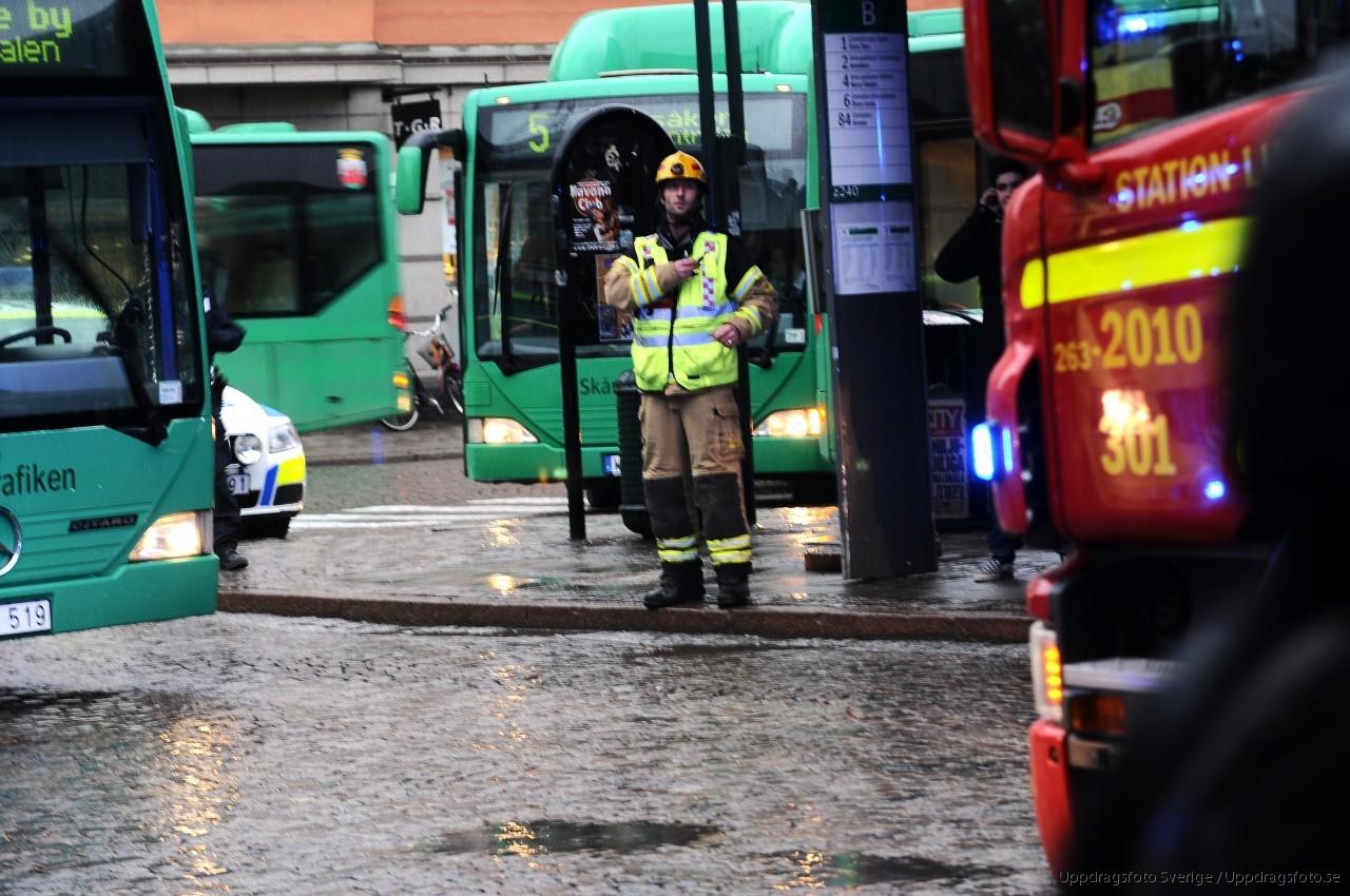 Rullstolsburen pakord av buss