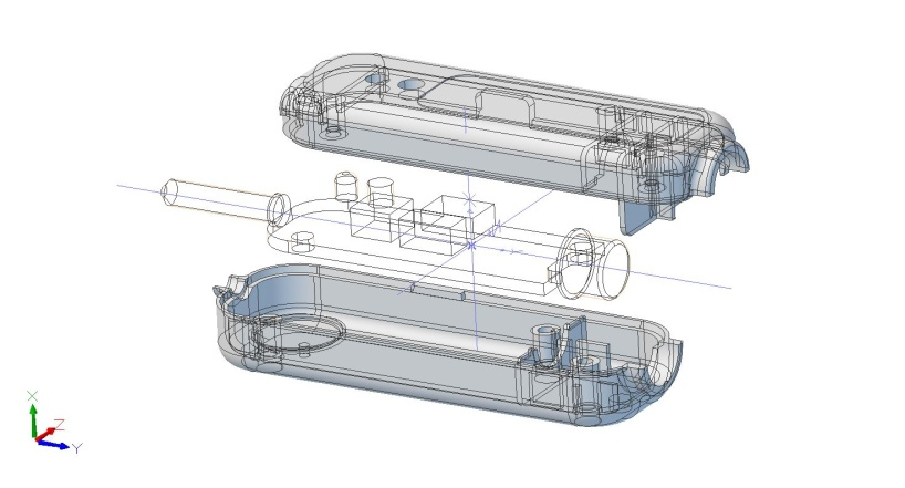 Plastdetaljer för elektronikkapsling