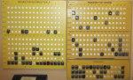 Bokningstavlor för 2-3 maskiner pass