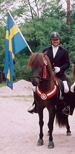 Askur och Johan världsmästare i stilpass 2001, foto Mirjam Horn.