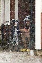 Ingen cykelbränna idag!