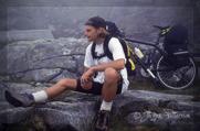 Jag på toppen av Trollstigen.