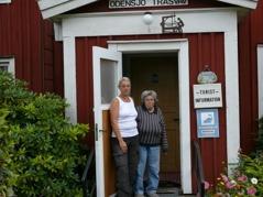 Ellen och Roswitha   hälsar er välkomna till  Strandhems Bed & Breakfast i Odensjö!