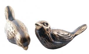 Sparv (6 cm) i brons - Sparv (6 cm) U