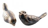 Sparv (9 cm) i brons