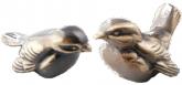 Sparv (10 cm) i brons