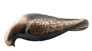 Duva  i brons - Duva (12 cm)