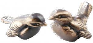 Sparv (10 cm) i brons - Sparv (10 cm) U