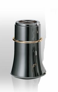 Aureola Silver Black Gravvas - Aureola Silver Black (20x13 cm) Vägg PL