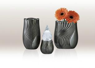 Charme Silver Black Gravvas - Charme Silver Black (20x11,9cm) Vägg PL