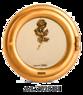 Infälld Gravlykta Artica 18 - Artica 18 med rosenkvist-dekor