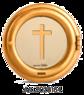 Infälld Gravlykta Artica 18 - Artica 18 med kors