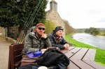 Fr? and Heaggman i River Dee
