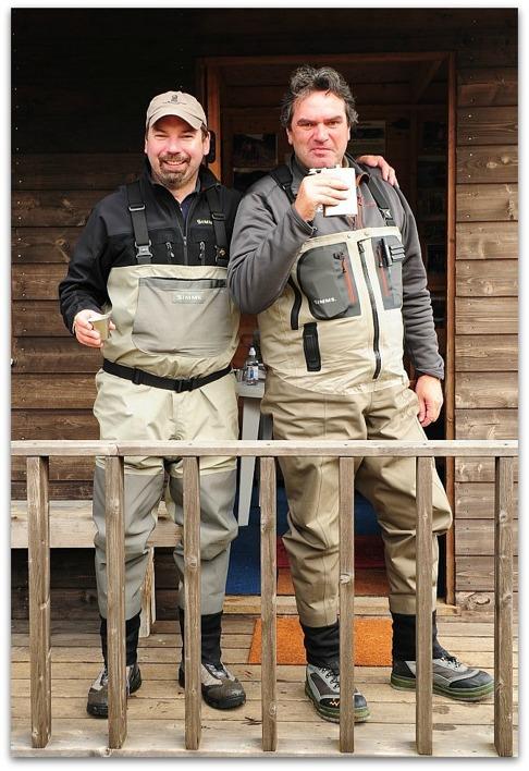 Captain Haddock and Reid Hagelin Photo by Thomas Thore