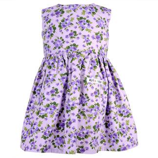 Lila - Klänning - Lila klänning 92 cl