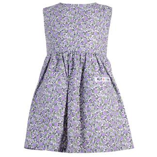 Lila småblommig klänning - Lila småblommig 74 cl