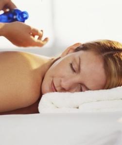 Aromaterapimassage  (Avstressande, Helkropp)