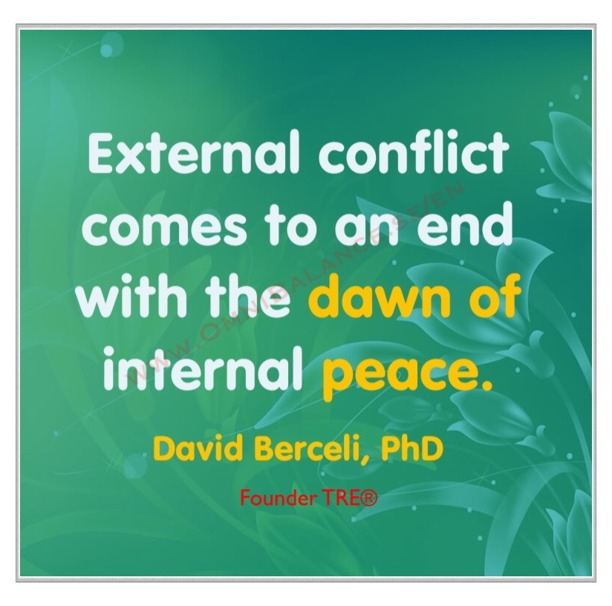 Dr David Berceli, quotes