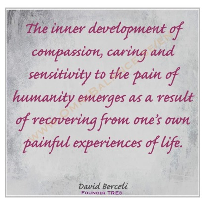 inner peace, dr david berceli, quotes