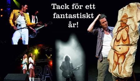 Grottmannen på Eskilstuna Teater avslutade vårt event-år 2014! Tusen tack till alla som besökt något av våra arrangemang, vi ses igen 2015!