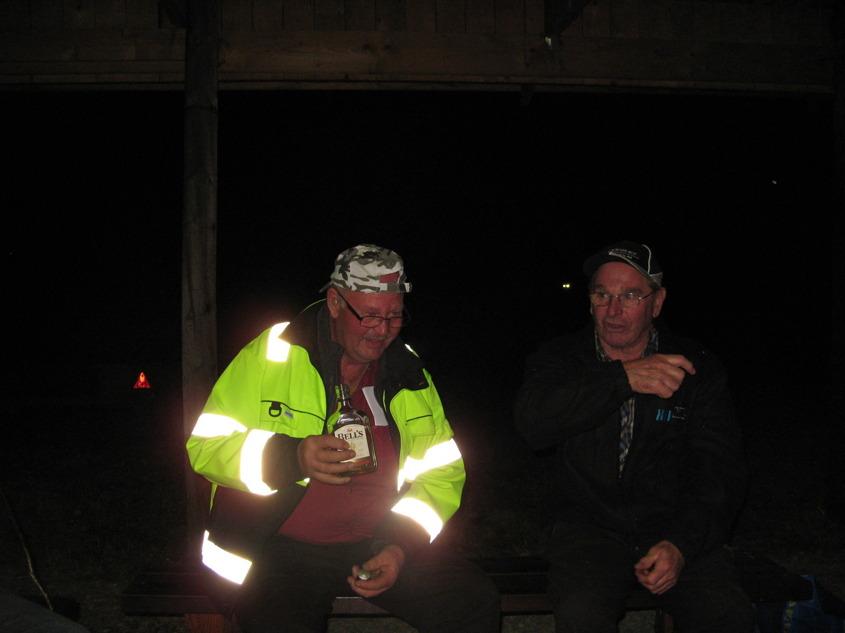 Paul och Gunnar, lite glada blev vi den kvällen.