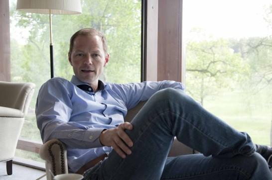 Niclas Helgesson, VD på Öijared Resort