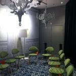 Design och färg präglar alla lokaler