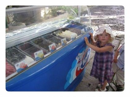 Glöm inte att njuta av Kroatiens goda glass i skolskenet