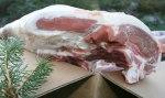 Fårfiol eller stek med ben. Steken kan även fås urbenad.