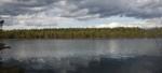 Nu har isen gått och den hemliga sjön ligger blank i kvällssolen! Klicka på bilden för att se den i större format.