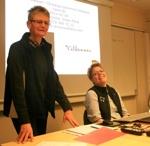 Gunnel Wikander och Titti Strömne hälsar välkommen till kursen Elitlamm-fortsättning!