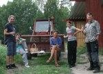 Jimmy, Sandra, Kerstin, Linda och Lasse i firartagen! Klicka på bilden för att se den i större format!