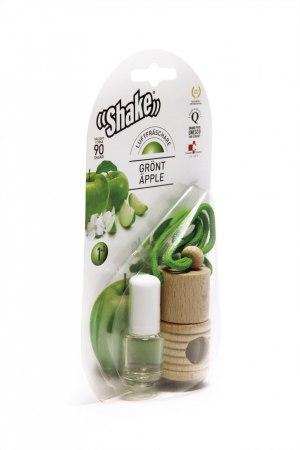 Uppfriskande doft av gröna äpplen som får dig att känna dig fräsch längre.