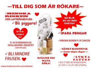 Anti Tobak minskar röksuget på naturligt sätt - makemesmile.se