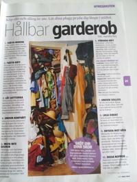 Tips för en fräschare och hållbar garderob