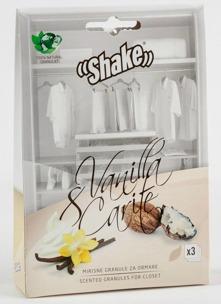 SHAKE™ Doftpåsar för Garderob - Vanilj & Carite, doften av vanilj med en touch av sheasmör.