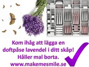 Lavendel doftpåsar - för fräscha kläder
