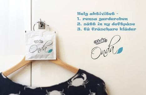Doftpåsar för garderob