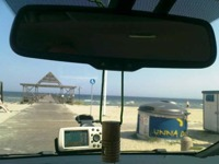 Besök på stranden