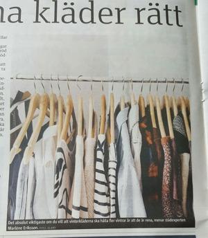 Hur tar du hand om dina kläder?