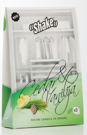 Vanilj & Cedar doftpåsar för garderob och skåp