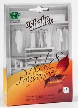SHAKE™ Doftpåsar för Garderob - Teak & Rosenträd, en mild och manlig doft.