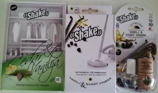 Vanilj paket (Vanilj & Svart vinbär doftolja samt dammsugardoft och Vanilj & Cedar garderobsdoft) - Vanilj paket (doftolja, garderobsdoft, dammsugardoft)