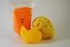 Badsalt - tvål - havssvamp - Badsalt apelsin - tvål apelsin - havssvamp