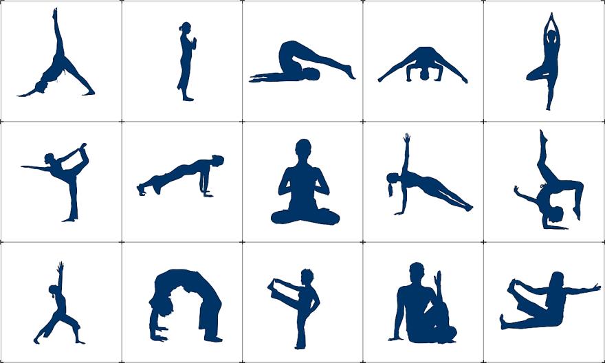 Vilka yogapositioner vill du ha hjälp med?