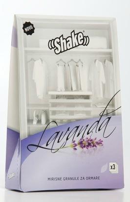 SHAKE™ Doftpåsar för Garderob - Lavendel är ett doftpulver som håller mal borta från dina textilier