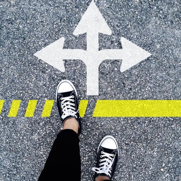 Vilken väg väljer du?